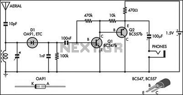 radio receiver circuit diagram the wiring diagram receiver circuit page 8 rf circuits next gr circuit diagram