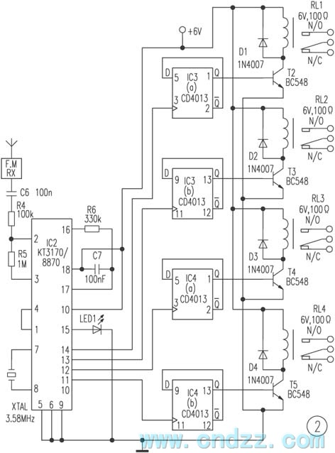 remote control circuit page 7   automation circuits    next gr