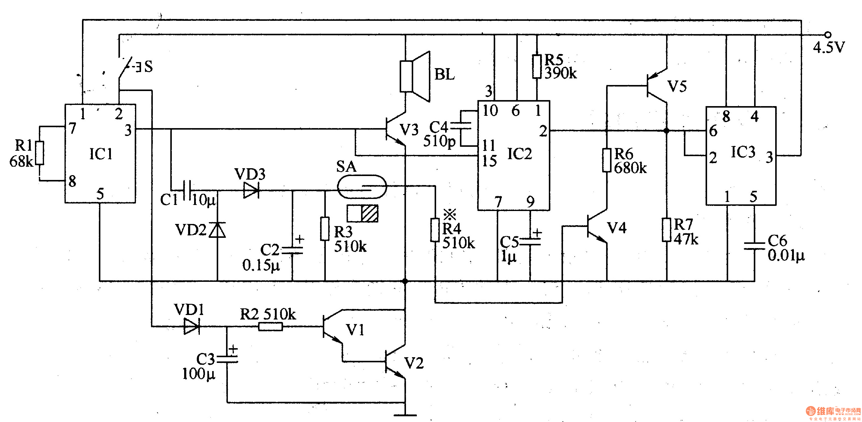 Results Page 6 About Switches Searching Circuits At Non Contact Tachometer Circuit Using 8051 Microcontroller Eeweb Politely Welcoming Electronic Doorbell