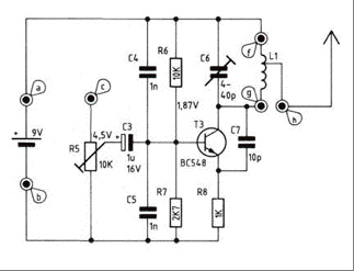 iPod FM Transmitter - schematic
