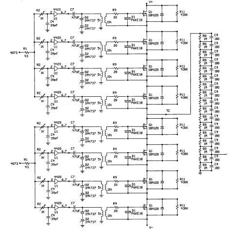 TESLA COIL DRIVER 2 - schematic