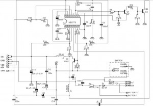 Sega Game Gear Power supply - schematic