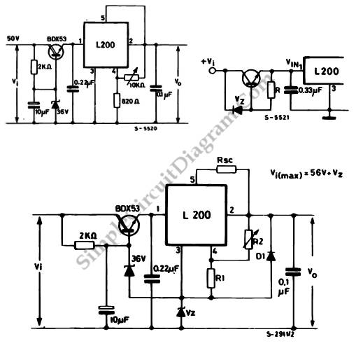 u0026gt  circuits  u0026gt  higher input or output for l200 voltage