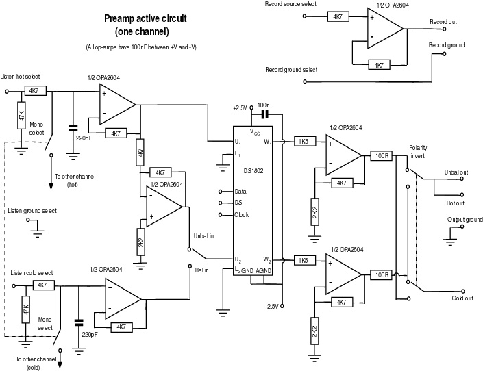 audio preamplifiers circuits page 12   audio circuits    next gr