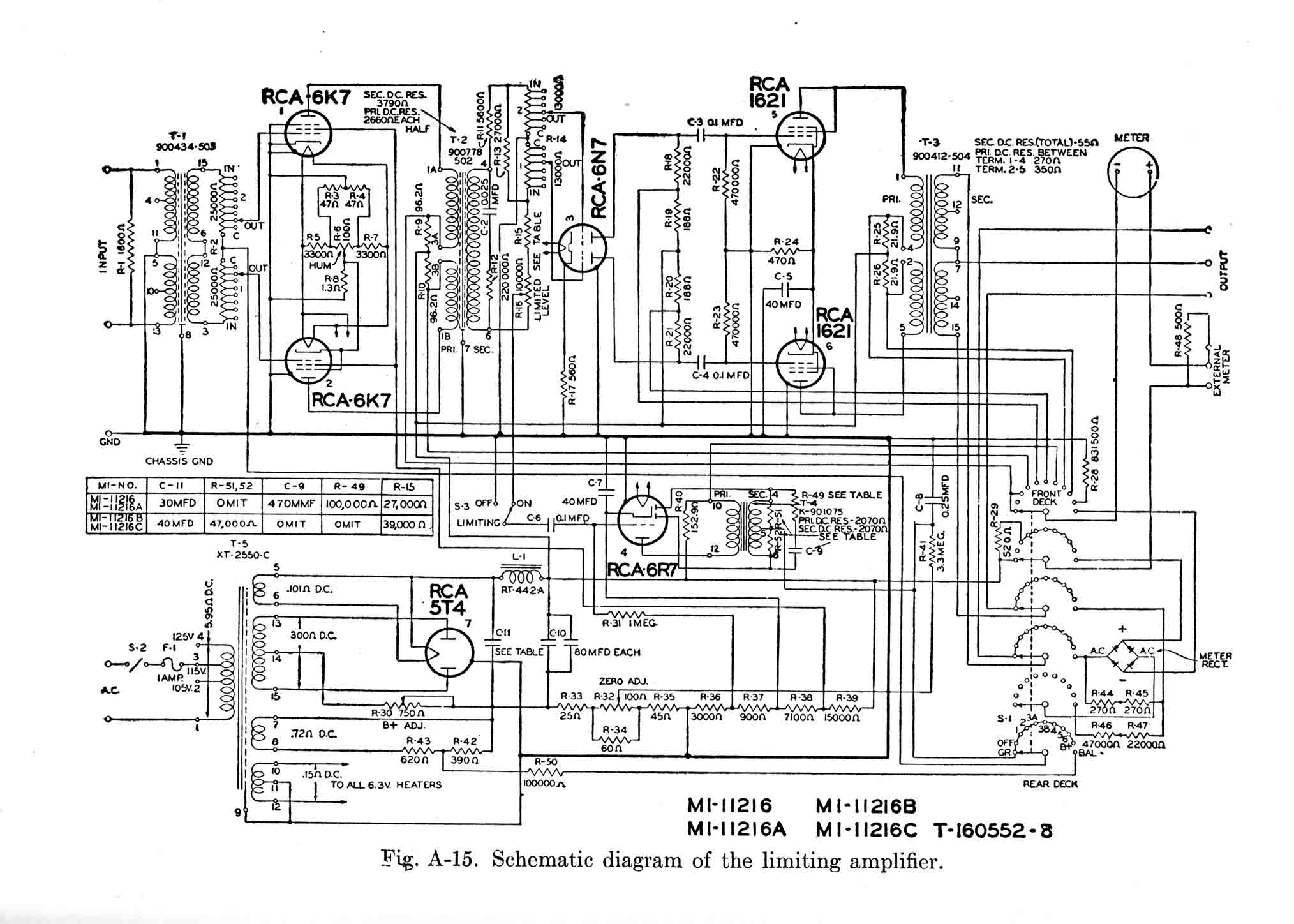 Results Page 306 About Audio Echo Circuit Searching Circuits At Electric Oven Diagram Sowter Vintage Transformers