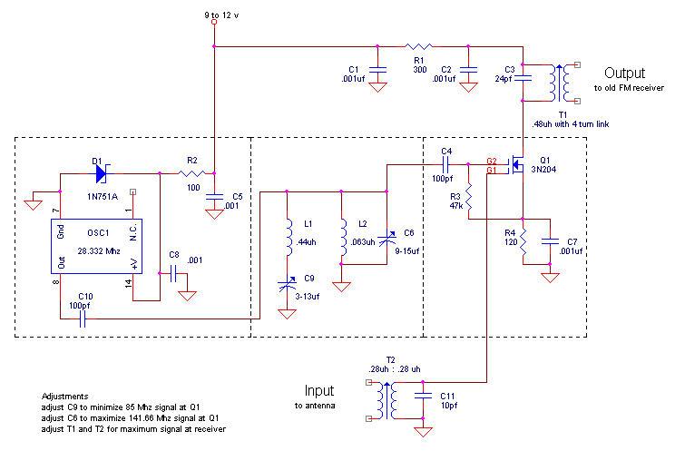 FM Converters - schematic