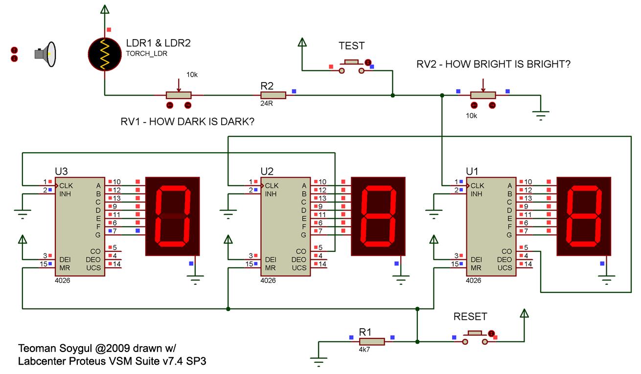 Laser Interference Pattern Enumerator - schematic
