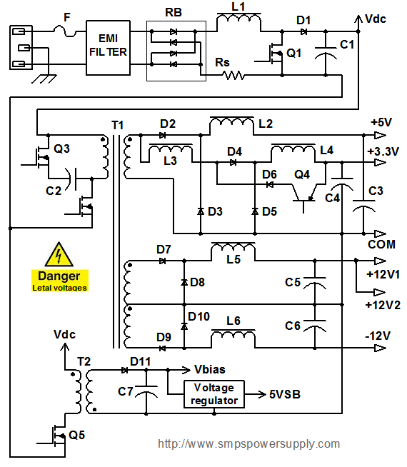 power supply results page 84, about '1 kv switching power supply' searching pc power supply wiring diagram at webbmarketing.co