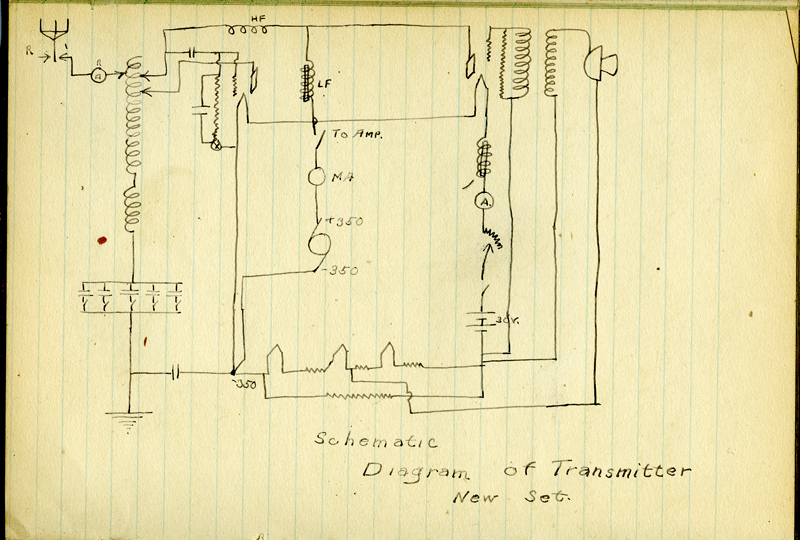 Wireless Telephone - schematic