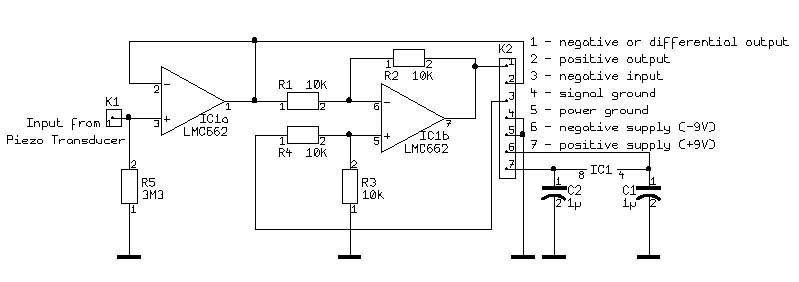 Buffer Schematic on Logic Probe Schematic