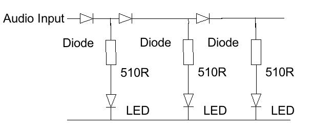 simple vu meter schematic switch diagram u2022 rh kimiss co