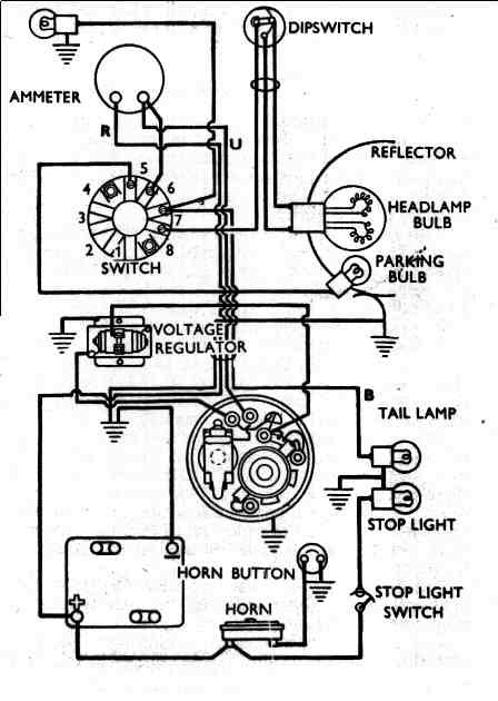 circuits > vincent motorcycle electrics l53645 next gr vincent motorcycle electrics schematic