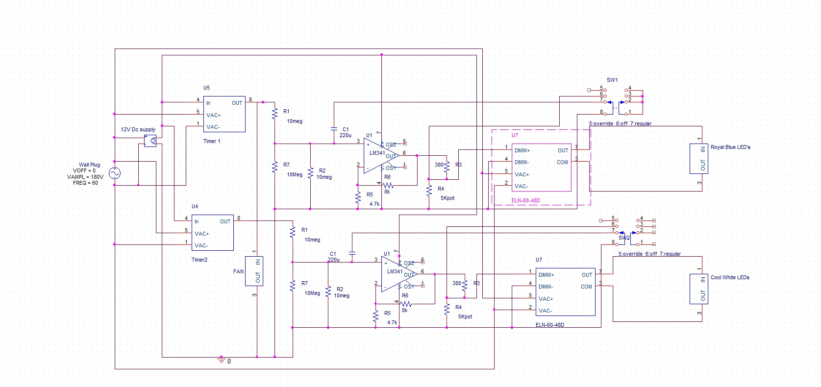 New Circuits Page 24 Voltage 12v 18v Open Frame Led Driver Circuit Diagram 500w Rustl3rs Custom Smart Light