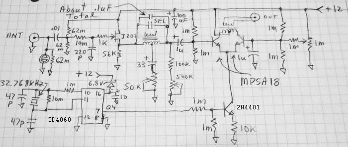 Schumann Resonance Converter - schematic