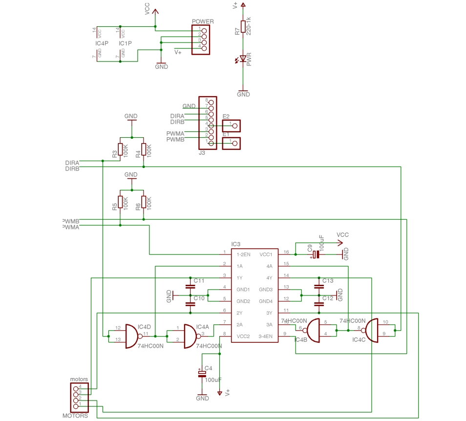 Electronic Circuits Page 138 Rolling Shutter Motor Control Diagram Assembling The Freeduino Arduino Shield