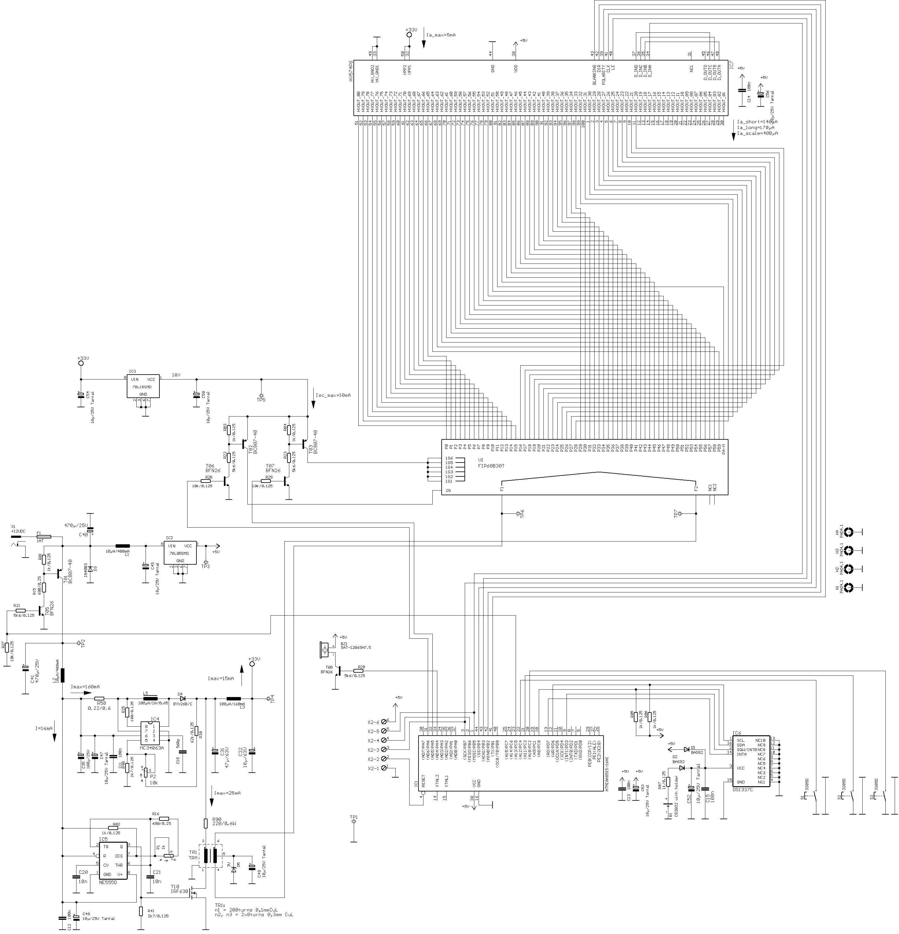 Results Page 357 About 6 Channel Ir Remote With Pic 16f84 Electronic Mosquito Repellent Circuit Diagram Using Ic 555 Nocrotec Fip Clock Fip60b30t Vfd Display