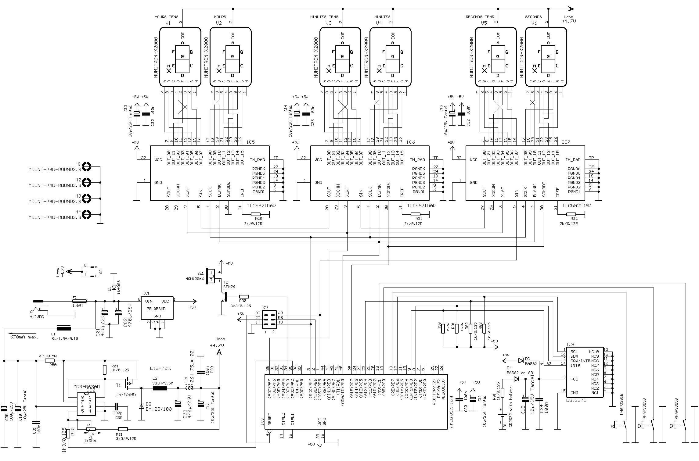 clock circuit page 3   meter counter circuits    next gr