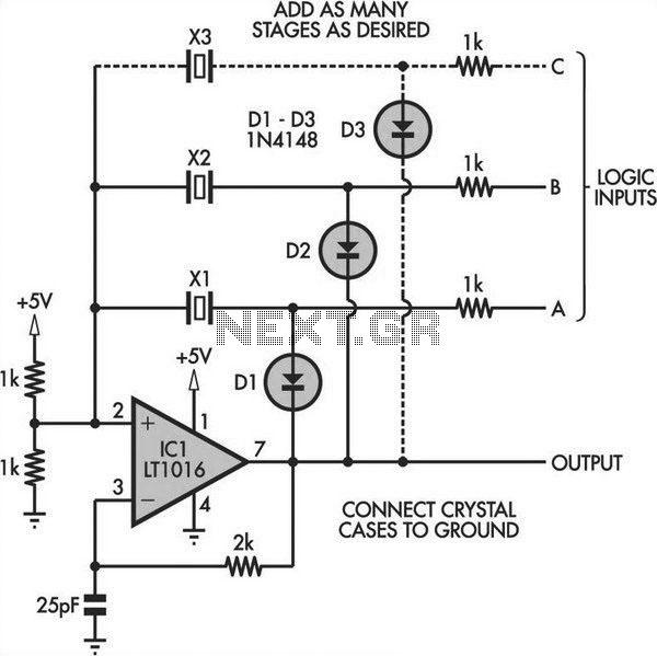 crystal oscillator circuit page 5   oscillator circuits