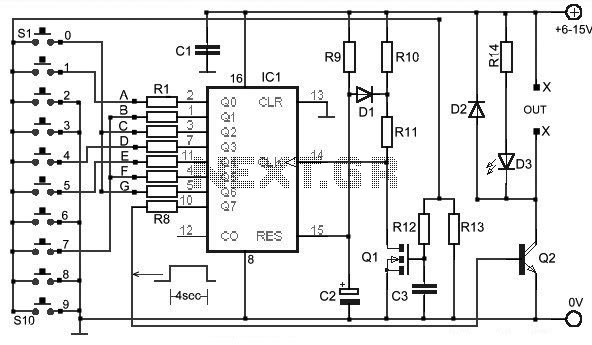 door lock circuit   security circuits    next gr