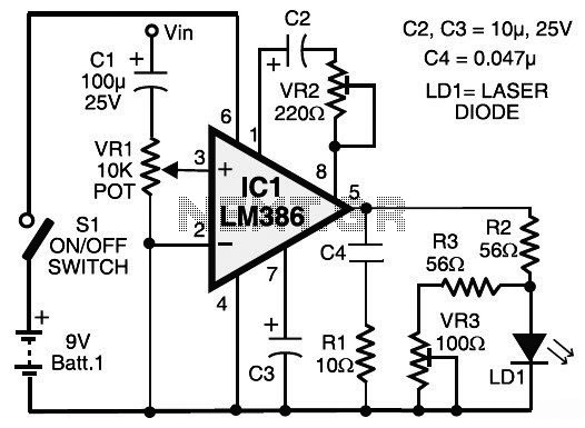 laser circuit page 3   light laser led circuits    next gr