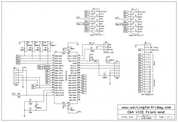 c64 vice front-end under repository-circuits -54314- : next.gr usb cable schematic #14