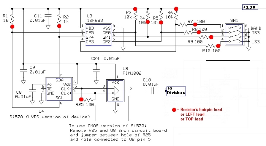 Local Oscillator Stage - schematic