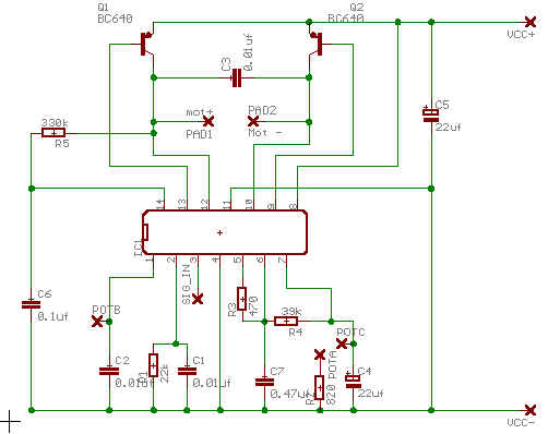 Servo Driver - schematic