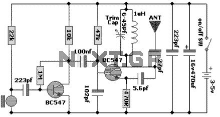 100 MHz RF Oscillator Circuit - img1