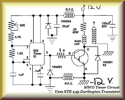 Tesla Technology Multi-Wave Oscillator - schematic