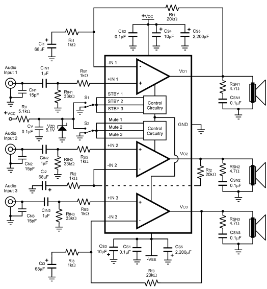 audio amplifier circuit page 25   audio circuits    next gr
