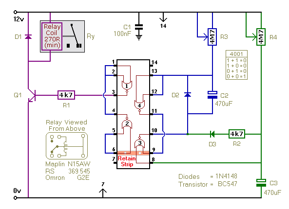 A Repeating Timer Circuit No.7 - schematic