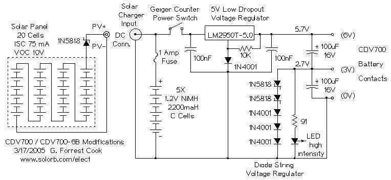 CDV700 Geiger Counter - schematic