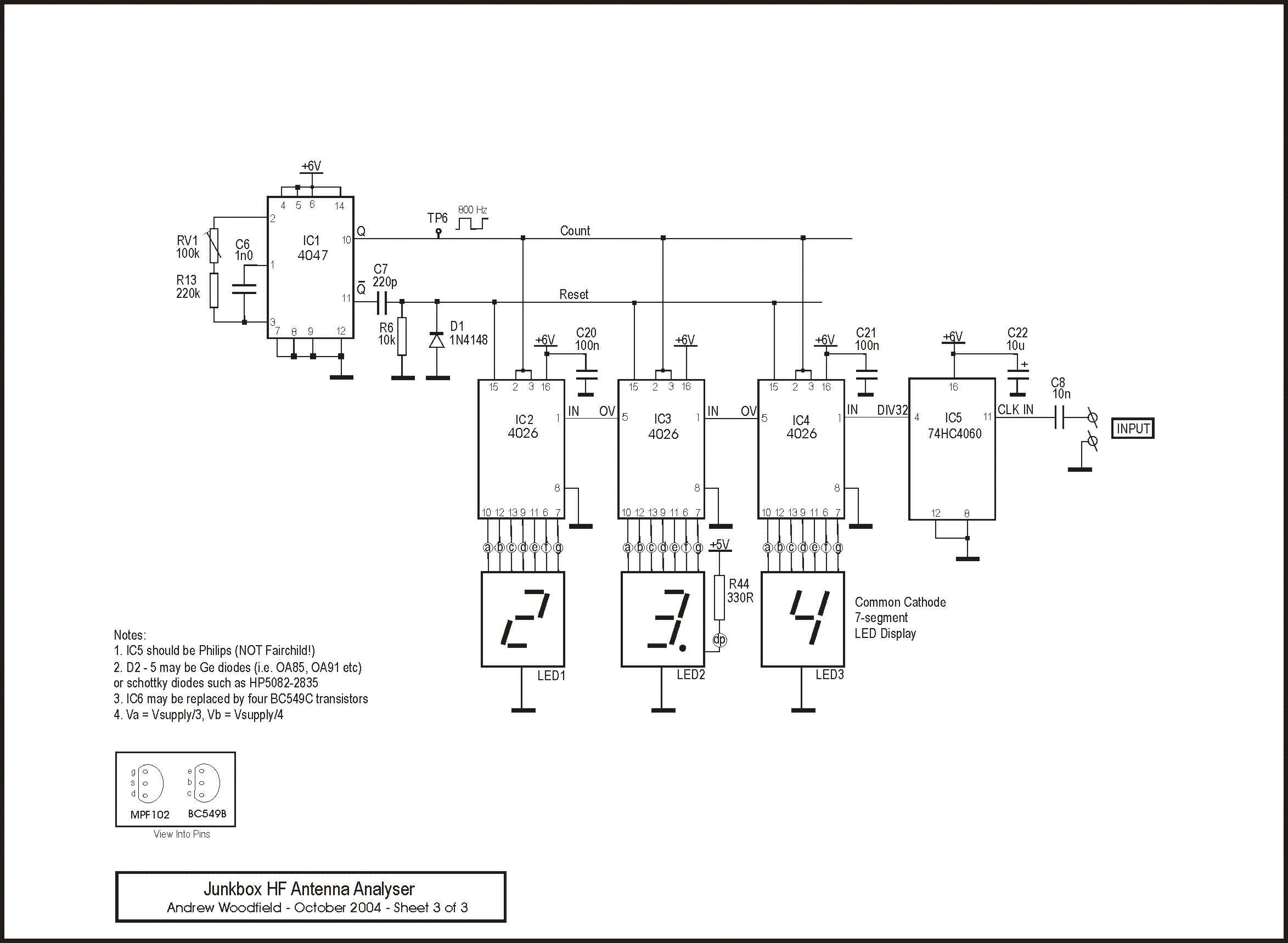 Antenna Project Page 4 Circuits Rf Car Circuit 15 Automotive Nextgr Analog Hf Analyser