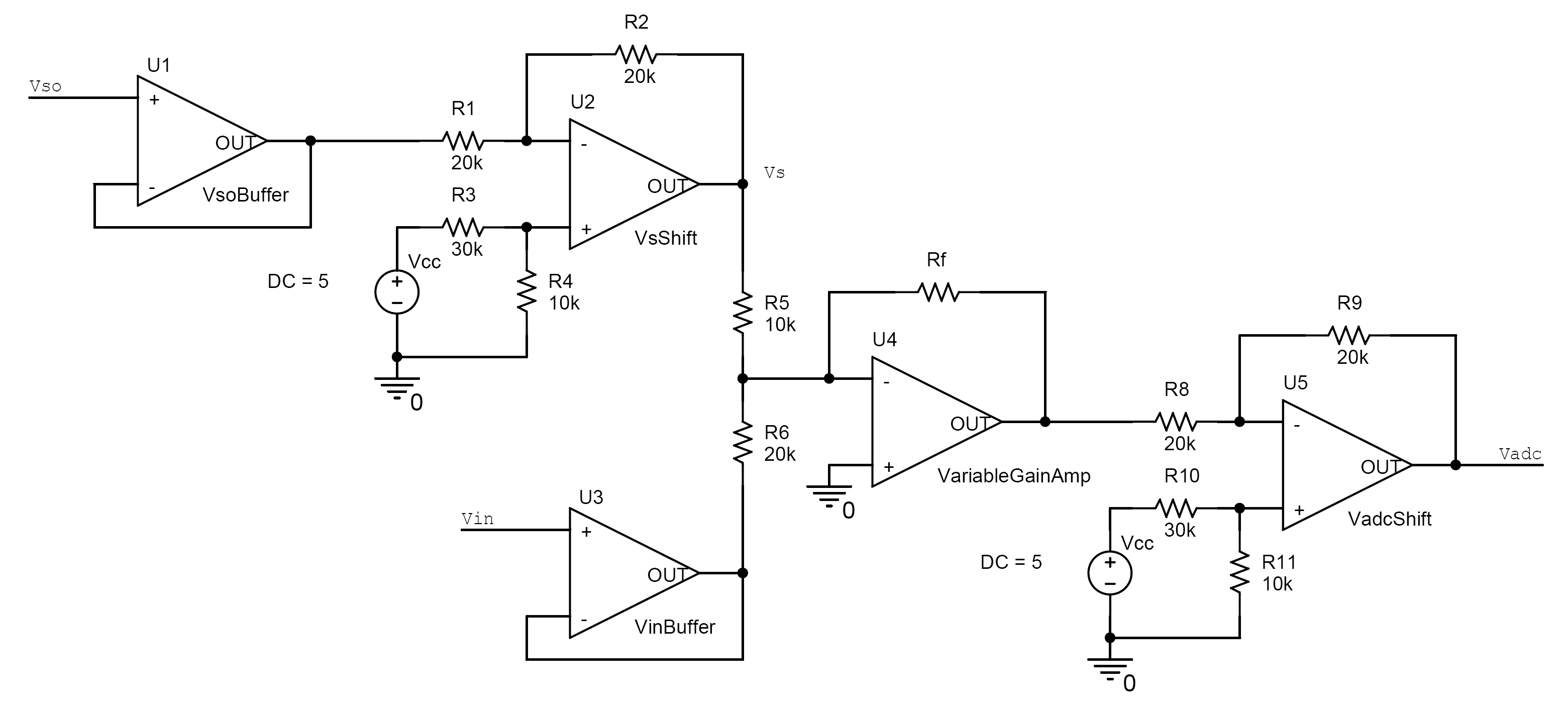 Electronic Circuits Page 531 Amplifier Integrated Circuit Lm358 Dual Op Amp Diagram Lab For The Purpose Of This Project Digital Signals Can Be Communicated With Computers While Analog Cant Rs232 Is Name Given To Your Serial Port