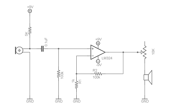 operational amplifier video tutorial and super microphone