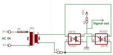 a dimmer project - schematic
