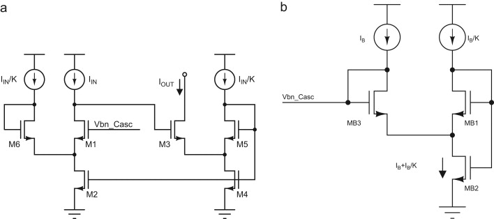 A very-high output impedance charge pump for low-voltage low-power PLLs - schematic
