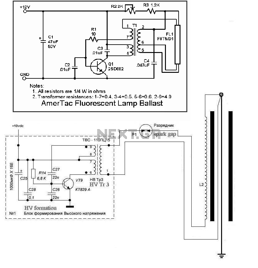 cfl circuit diagram the wiring diagram inverter circuit page 9 power supply circuits next gr circuit diagram