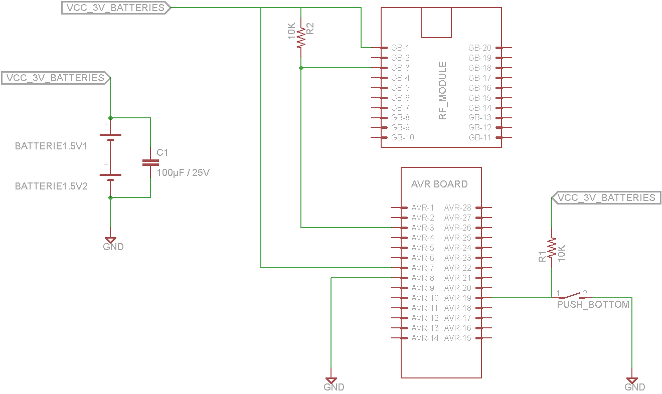 Automation of Lamp Relay Controlled with RF
