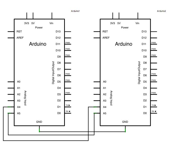 Arduino Master Reader - schematic
