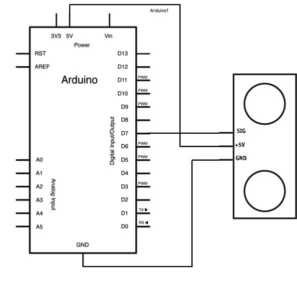 Arduino Ping - schematic
