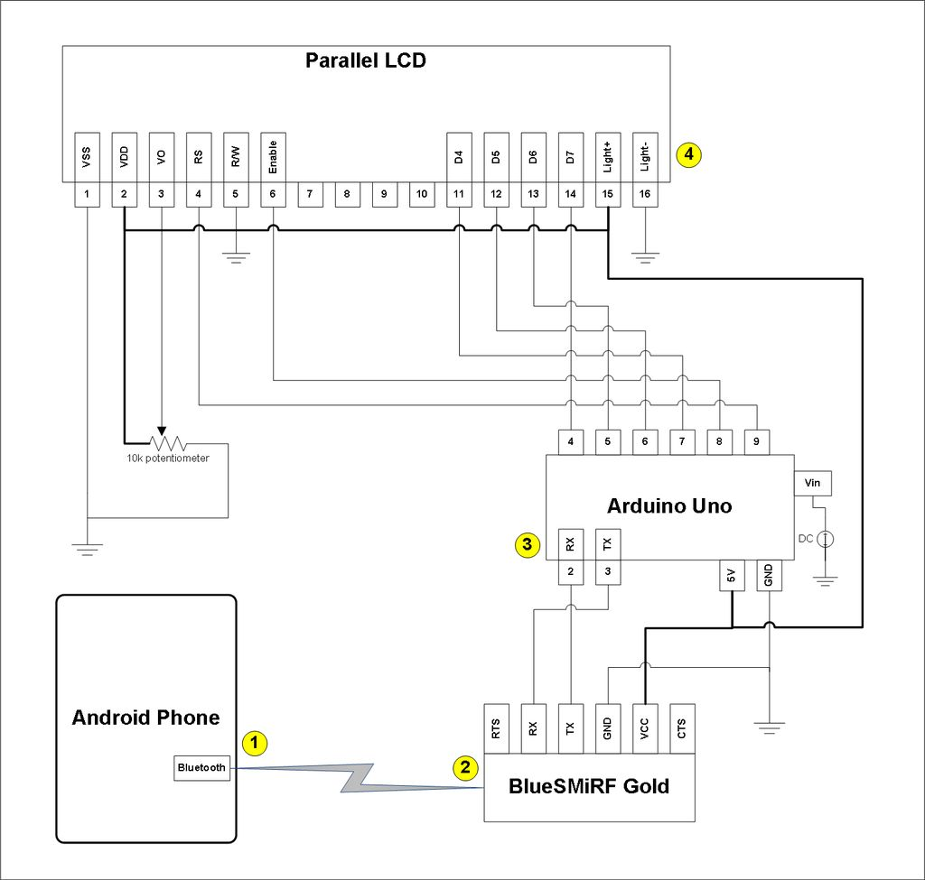 Popular Circuits Page 110 Ttlcontrolled Laser Diode Driver Updated Schematics Android Talks To Arduino Board