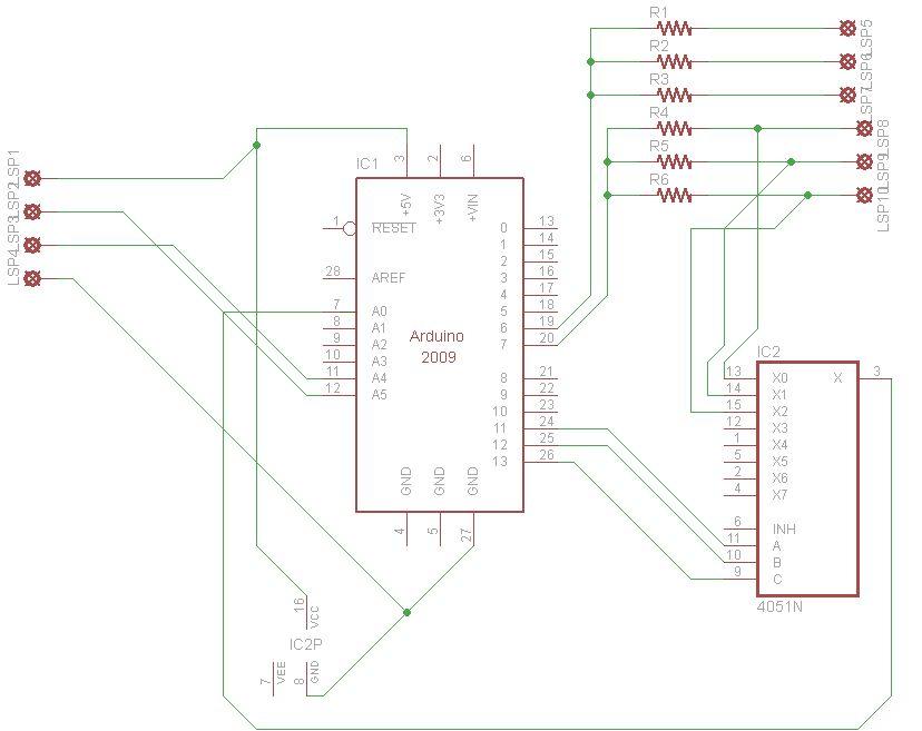 Garduino-Automated Gardening System using Arduino - schematic