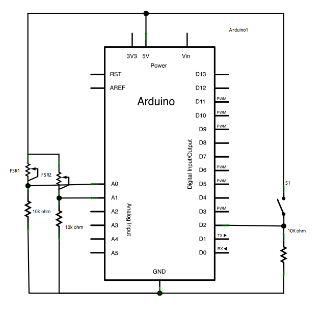Arduino Serial Call Response - schematic