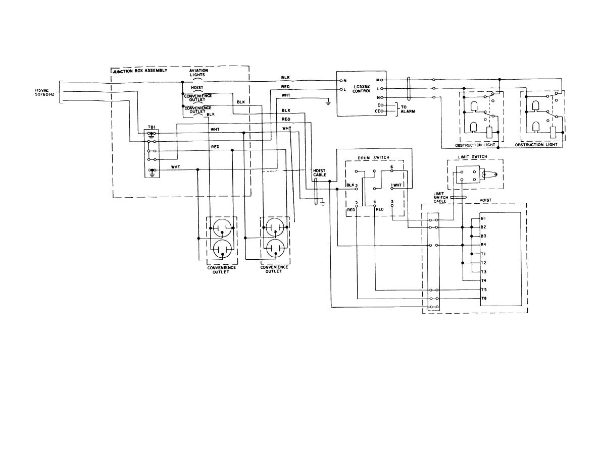 Antenna Tower Electrical Circuit Schematic Wiring Diagram - schematic