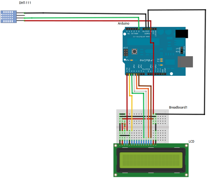Arduino Project RomG - schematic