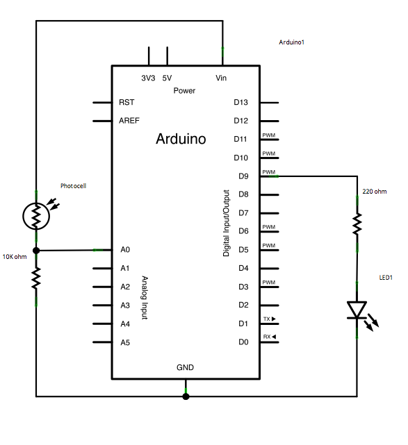 Arduino Calibration - schematic