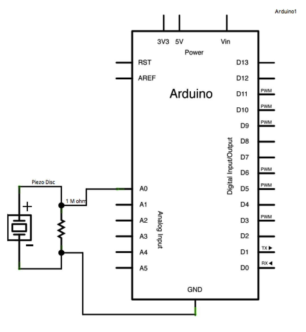 Simple Vibration Sensor Circuit Not Lossing Wiring Diagram Pir Arduino Microcontroller Circuits Next Gr Piezo