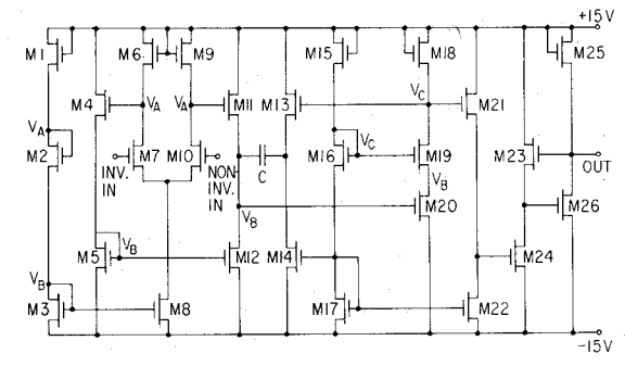 cut the feed forward in the miller compensation with voltage buffer