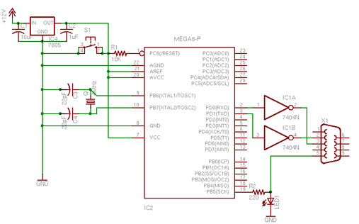 arduino circuit page 15 microcontroller circuits. Black Bedroom Furniture Sets. Home Design Ideas